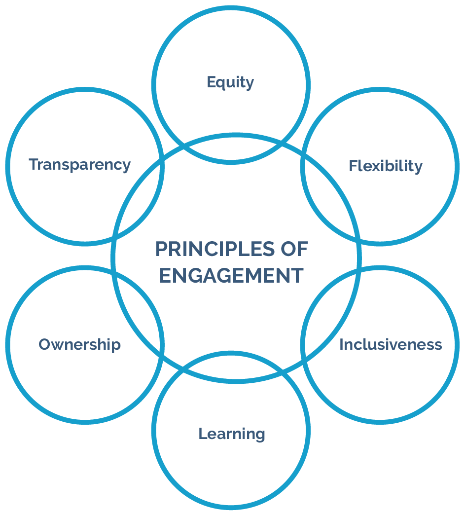 Principles of engagement graphic